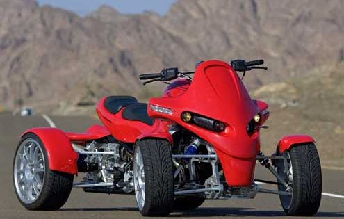 A legal BMW 1200cc Street quad World of ATV's