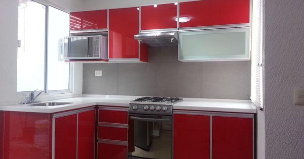 Puertas de aluminio para cocina hogar y dise o for Disenos de puertas de aluminio