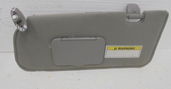 Ford Escape Xlt 4x4 Left Sunvisor Sun Visor Gray Cloth 01 02 Oem Ford Escape Xlt Ford Escape Ford