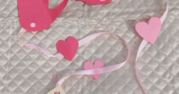 Valentine craft for kids - A long distance hug for someone special