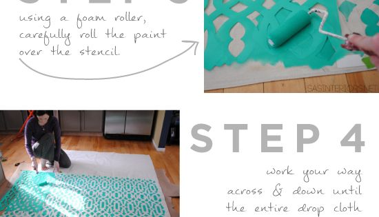 Use The Trellis Allover Stencil From Cutting Edge Stencils To Create Your Own Shower Curtain