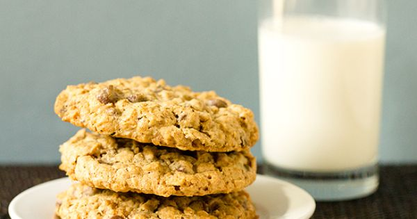 Salted Espresso Oatmeal Chocolate Chip Cookies Recipe - Key Ingredient