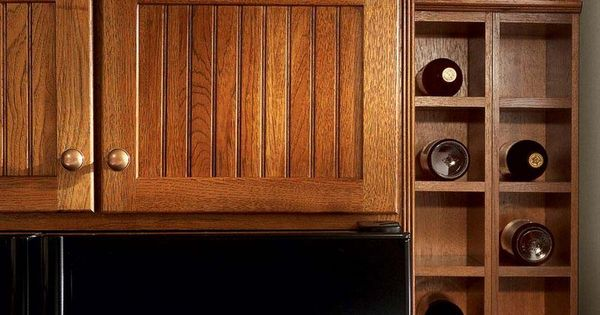 Storage solutions details wall wine rack cabinet from kraftmaid storage solutions dream - Kraftmaid cabinet replacement parts ...