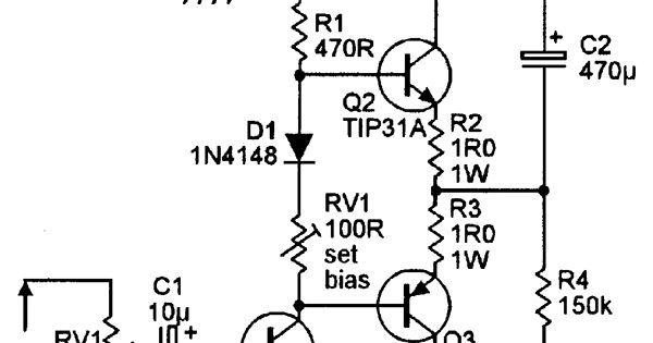 Simple 1 Watt Amplifier