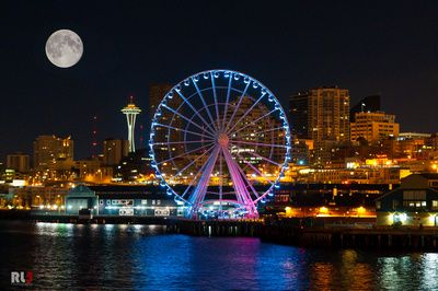The Seattle Great Wheel In 2019 Sights