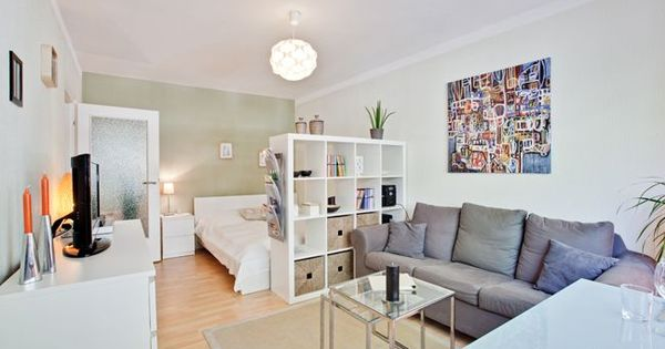 Wohn-Schlafzimmer / living-bedroom  ikea  Pinterest