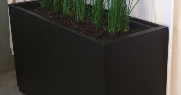 Planter from recycled filing cabinet on castors ~ use non ...