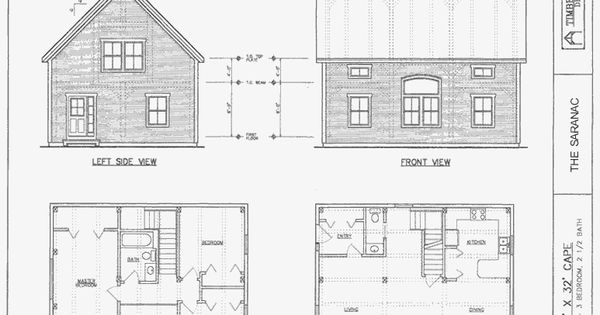 Pin By Deandra Vandeventer On House Plans Cape House Plans Beach Style House Plans Two Story House Plans