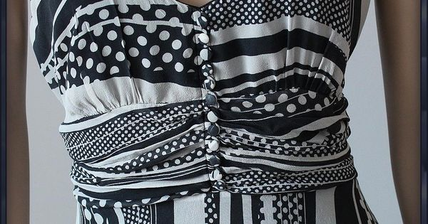 Jasper Jedwabna Luksusowa Sukienka Maxi Silk 42 Xl 7005068787 Oficjalne Archiwum Allegro Striped Top Silk Fashion