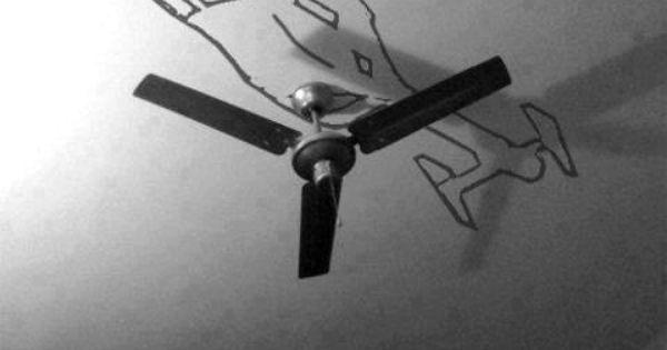 Boys bedroom fan
