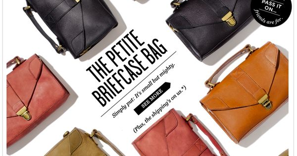 Love how they photographed these bags.  版-1  Pinterest  레이아웃 및 아이디어