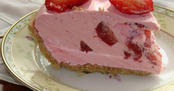Strawberry Jello Cake Recipe With Pudding: Strawberry Jello Pie