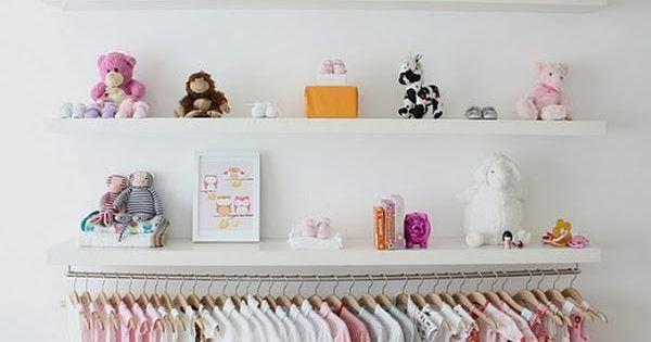 Un perchero extra en una habitaci n infantil armario for Armario habitacion nina