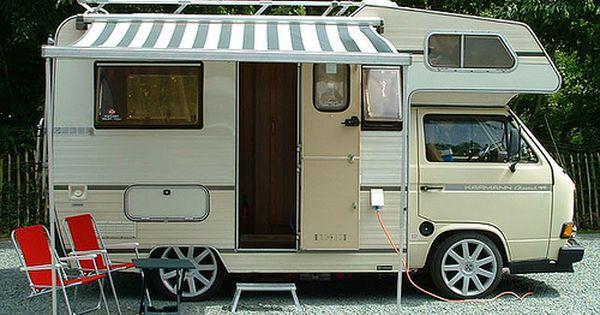 Volkswagen Karmann Coachbuilt Camper Van Volkswagen Karmann Volkswagen Camper Van