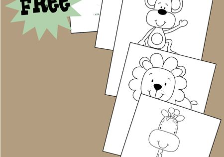 super cute free printable coloring pages with a jungle theme these animal coloring sheets are. Black Bedroom Furniture Sets. Home Design Ideas
