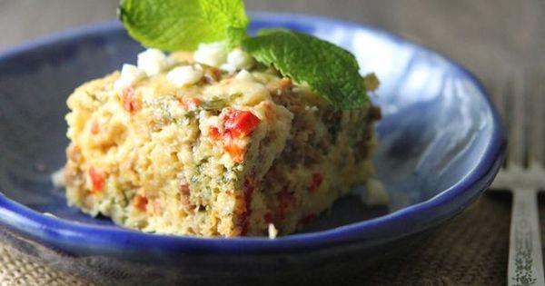 Slow Cooker Recipe Crustless Mediterranean Quiche