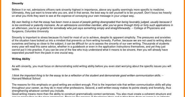 personal statement for graduate school sample essays