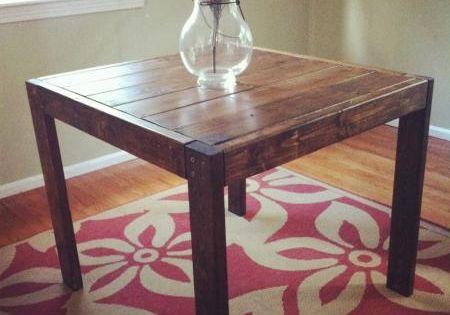 2x6 and 2x4 diy modern farmhouse table dining room for 2x4 farm table