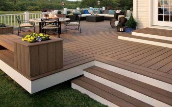 Terrasse Composite BOIS/PVC | Terrasse surélevée ...