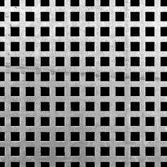 Square Perforated Aluminum 17960050 Mcnichols Perforated Metal Metal Perforated