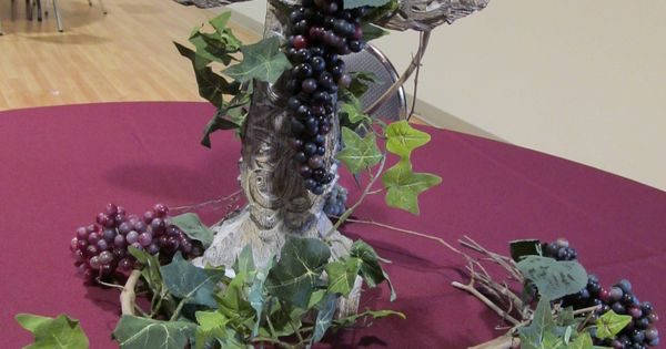 I Am The Vine Centerpiece Bible Themed Birthday Party