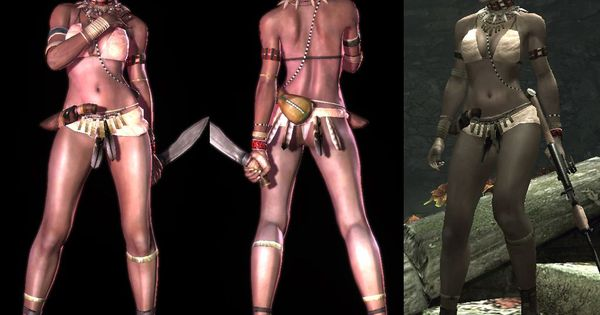 Resident evil 5 sheva tribal opinion you