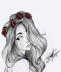 Resultado De Imagen Para Dibujo De Una Chica Dibujos Tumblr Dibujos A Lapiz Tumblr Dibujos