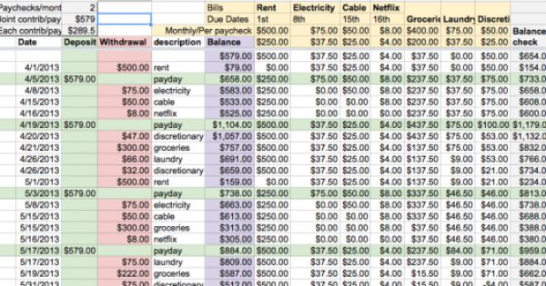 Finance Guide For Moving In Together With A Free Budget Template