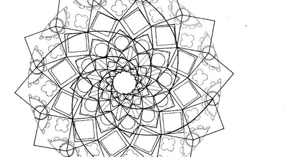 Golden Sections At Chartres Geometry Pattern Math Art Geometric