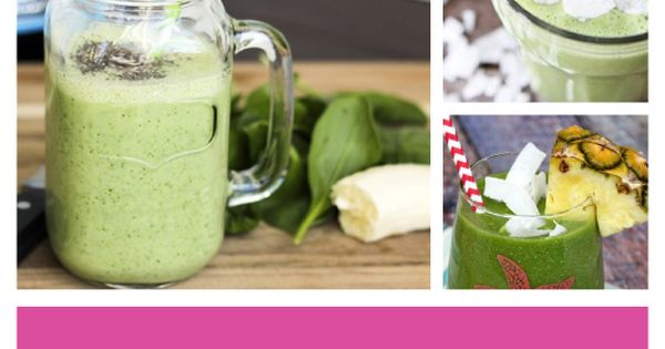 50 Green Smoothies - Whether it???s breakfast or an afternoon snack, a