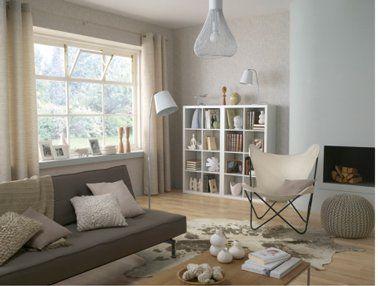 16 Idees Avec La Couleur Lin Pour Le Salon Deco Salon Decoration Salon Salon Gris Et Blanc