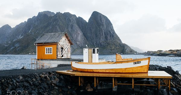 Pin By I Love Boats On Travel Cabin Lofoten Norway