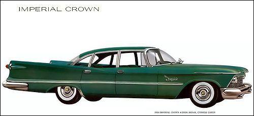 1958 Chrysler Crown Imperial Limousine Limousine Car Chrysler