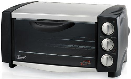 Delonghi Eo1251 6slice 12cubicfoot Convection Oven Black And