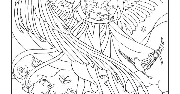 greek goddess gaia coloring pages | Goddesses Coloring Book | Dover Coloring | Pinterest ...