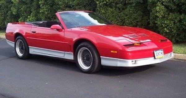Pontiac Firebird Trans Am Convertible For Sale In Houston: Pontiac Firebird Convertible For Sale