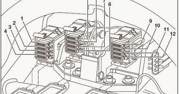 Bmw K1200lt Radio Wiring Diagram 4 K1200lt Pinterest