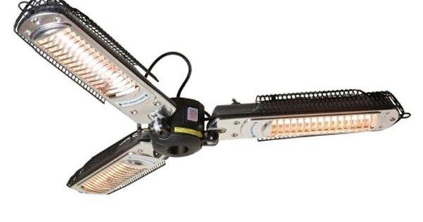 Az Patio Heaters 1 500 Watt Infrared Parasol Electric Patio Heater