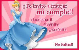 Cenicienta Princesas De Disney Tarjeta De Cumpleaños Par