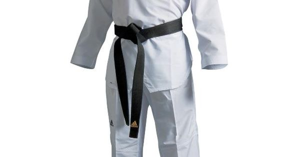 dobok taekwondo adidas adi flex col noir approuv wtf. Black Bedroom Furniture Sets. Home Design Ideas