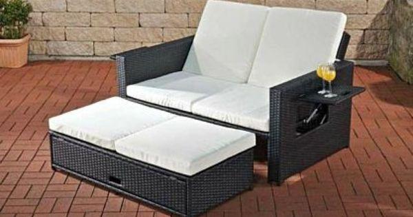Sofa Ausziehbar Ablagen Funktionen Daybed Lounge Gartenmobel Rattan 7 Farben Cl Andy Kaufen Bei Hood De Lounge Gartenmobel Polyrattan Sofa Mobel