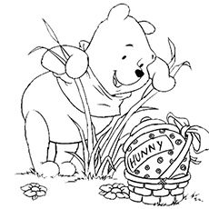 Top 10 Free Printable Disney Easter Coloring Pages Online Easter Coloring Pictures Disney Coloring Pages Easter Coloring Pages