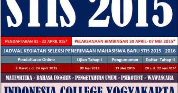 Bimbingan Stis Jogjakarta Bimbingan Stis Kedinasan 2015 Program Jaminan Star Mahasiswa Kedokteran Indonesia
