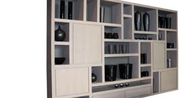 ketty biblioth que salon page 2 biblioth que murale. Black Bedroom Furniture Sets. Home Design Ideas