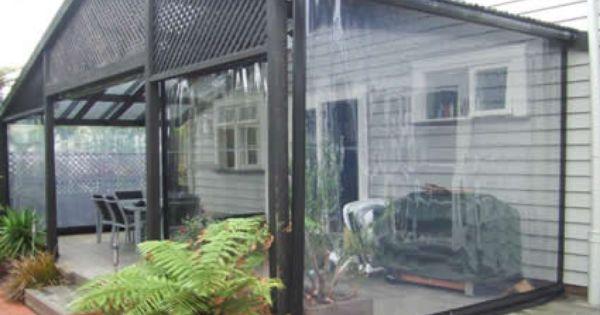 Clear Vinyl Plastic Winter Drop Panels Youtube Pergola Plans Roofs Outdoor Curtains Rustic Pergola