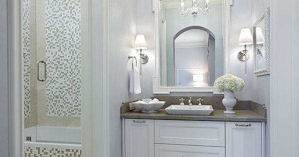 Hollywood Regency Styled Bath Tara Dudley Interiors