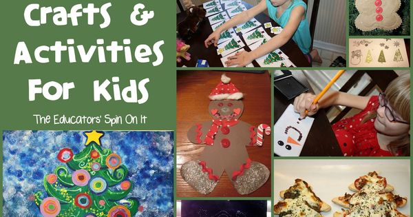 Christmas Crafts and Activities for Kids part of our Afterschool Express Holiday