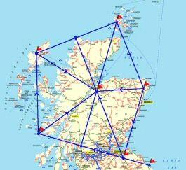 Sacred Scotland Hidden Landscape Patterns Ley Lines Scotland Iona