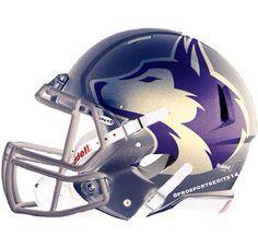 Pin By Unisunn 144 College Football B On University Of Washington Huskies Football Helmets Washington Huskies Football Huskies Football