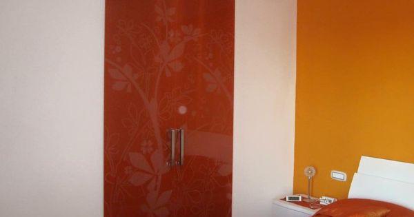 Marsica hardglazen schuifdeur gekleurd glas met motief marsica hardglazen deuren - Eclisse schuifdeur ...